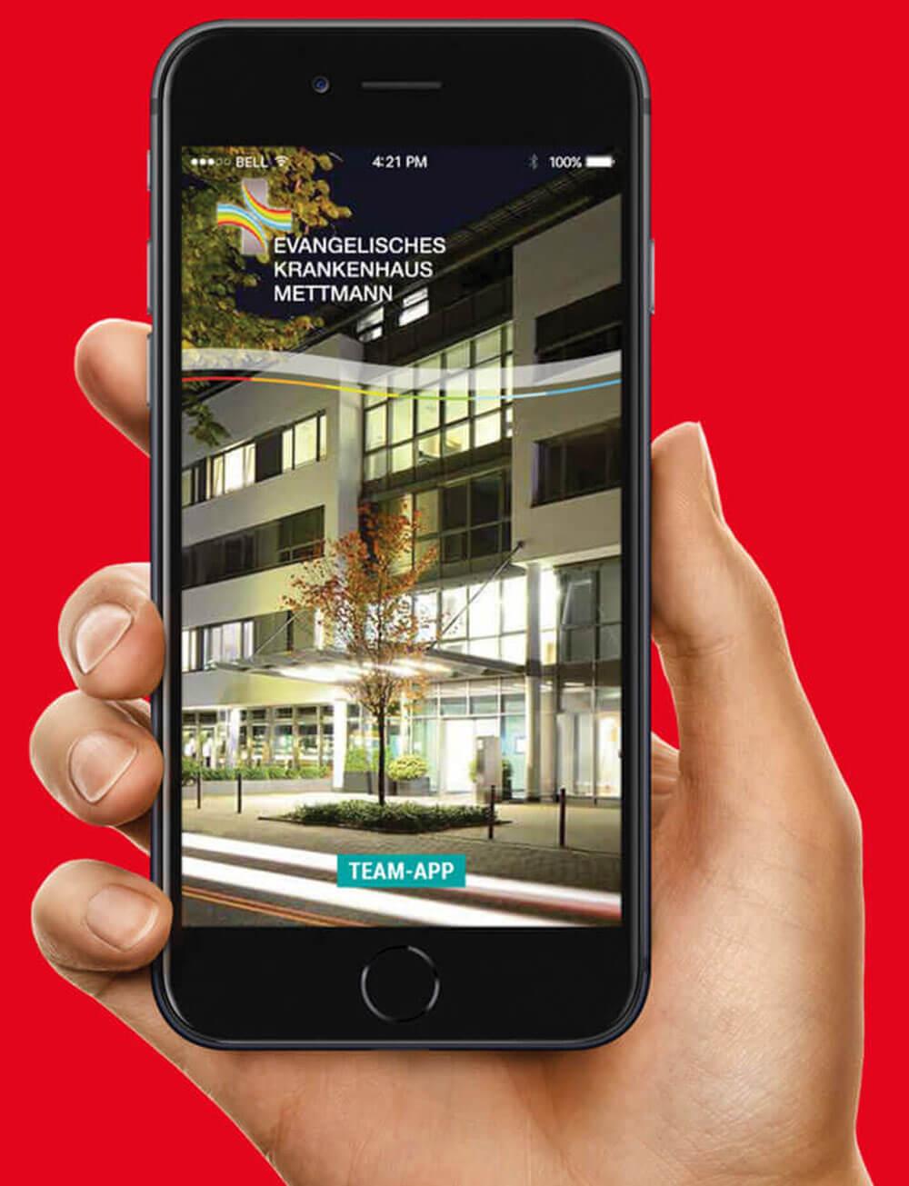 Jetzt Team-App live erleben - im Video-Chat!